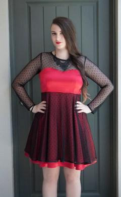 emma red dress