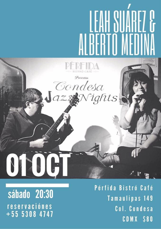 Leah Suárez & Alberto Medina @ Pérfida, La Condesa, México City, México
