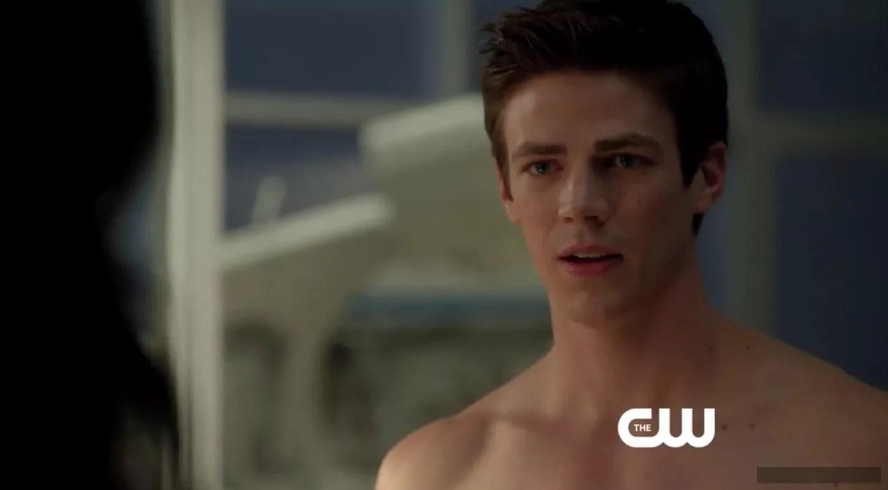 Nude gustin The Flash