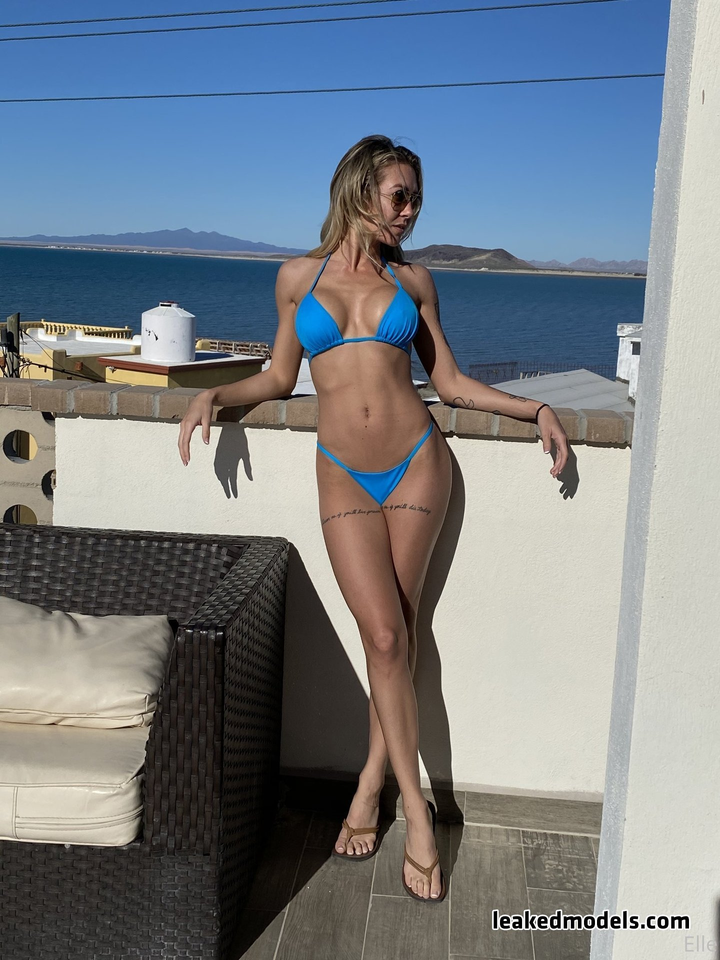 ellebelle1 leaked nude leakedmodels.com 0026 - Elle – ellebelle1 OnlyFans Nude Leaks (40 Photos)