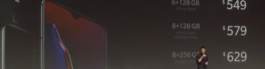 OnePlus 6T price start at $549, Google Ad screenshot reveal 1