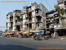 Phnom Penh Slum Area