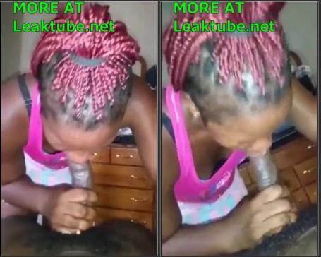 Ghana Tamale Hookup Girl Roselyn Sucking Dick Like Lollipop Leak