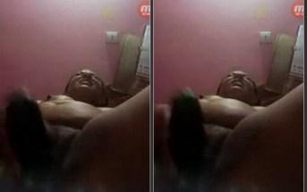 Ghana Part 5 Video Of Madam Rosemary Masturbating With Big Cucumber Leak