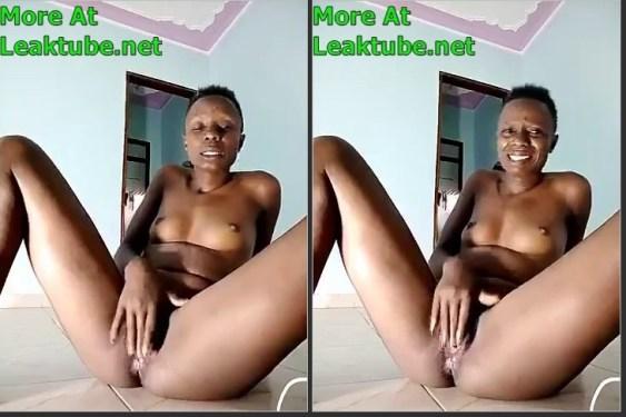 Uganda Kyambogo University Student Masturbating on Camera Leak