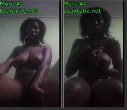 Ghana Facebook Girl Hannah Kusi From Brong Ahafo Naked Video Part 3 Leaktube.net