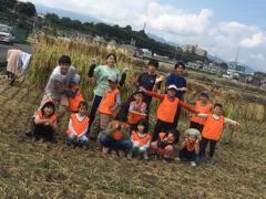 第三回農業イベント「稲刈り」がに行ってきました!