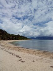 One of the beaches in Romblon.