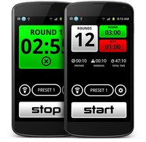 Boxing timer app