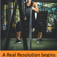 Make ONE REAL RESOLUTION this Year