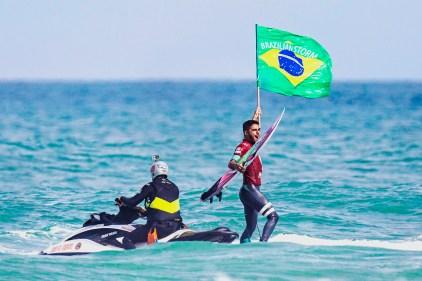 Oi RIo Pro WSL Mundial de Surf 2015 - Filipe Toledo. ©Leandra Benjamin