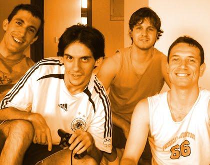 Leandro, Thiago, André e Bruno