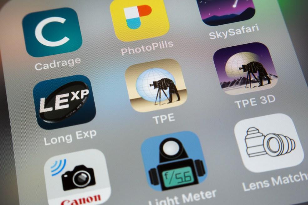 Aplicaciones para fotógrafos