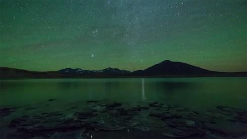 Airglow Laguna Verde