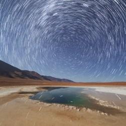 Regular star trail