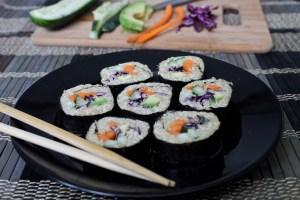 Veggie Quinoa Maki