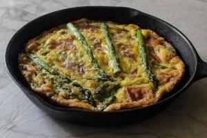 Prosciutto & Asparagus Frittata