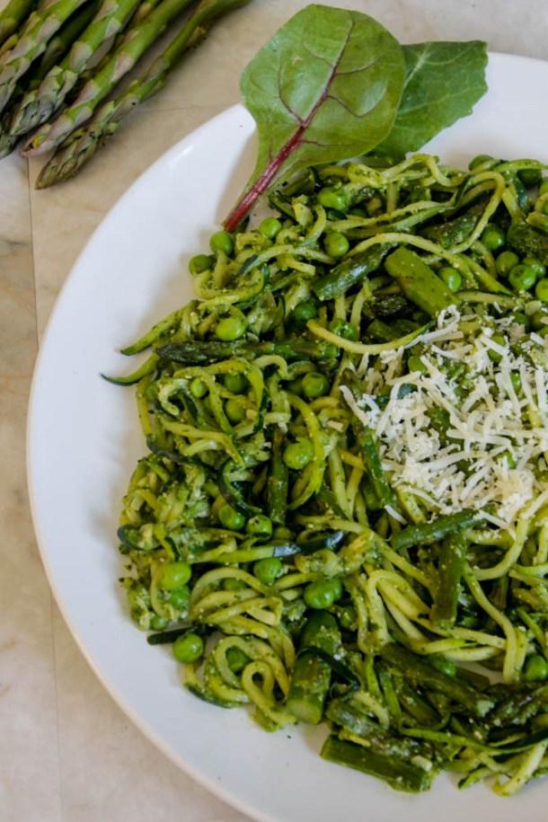 spring zucchini pasta 1