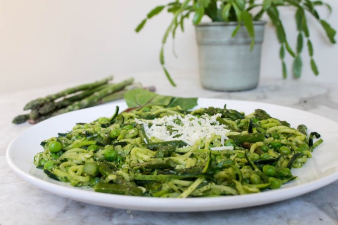spring zucchini pasta 2