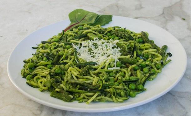 spring zucchini pasta 3