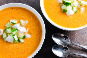 Spicy Spanish Gazpacho