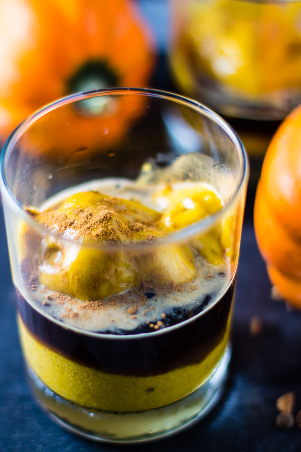 Pumpkin Spice Nice Cream Affogato