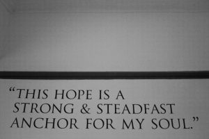 Anchor for my soul