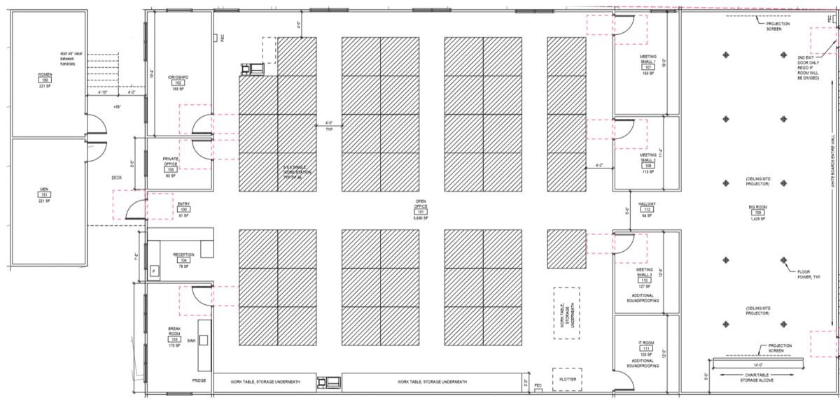 Co Location Floor Plan
