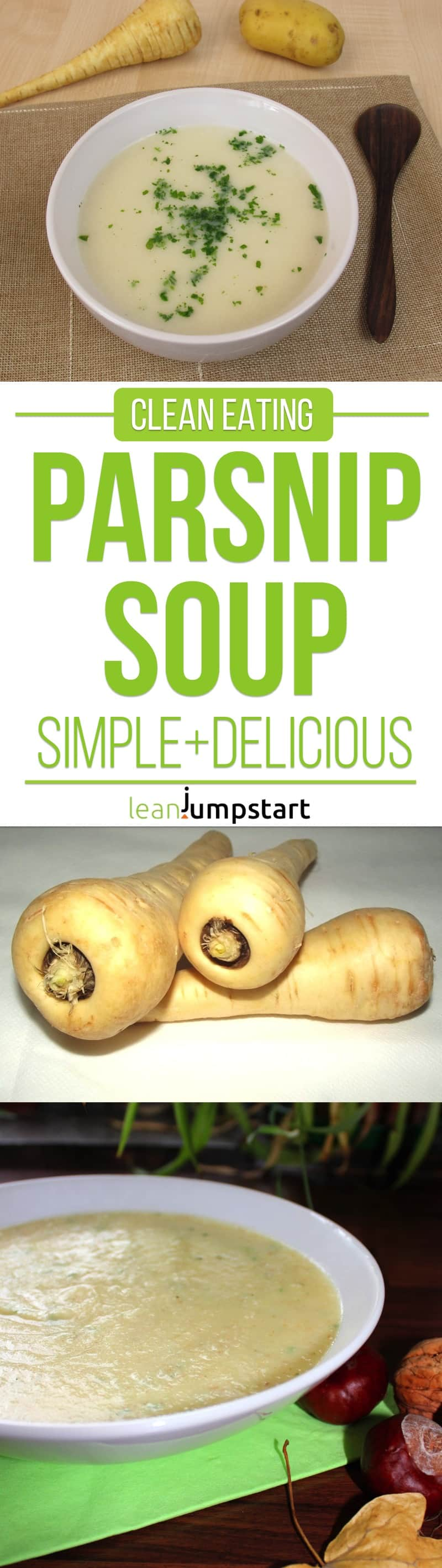 parsnip soup recipe: clean, easy and filling