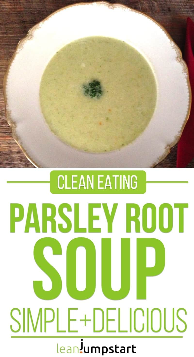 parsley root soup recipe: clean, quick and easy