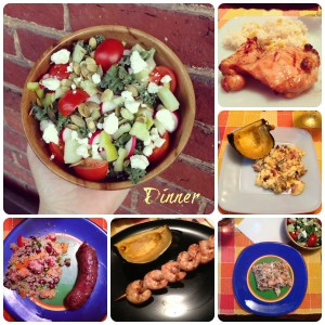 """Belated """"What's on my Plate Wednesday"""" and Weekly Exercise Recap"""