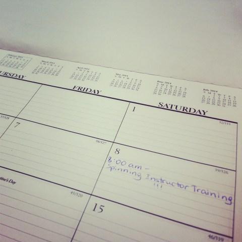 Marked my calendar!