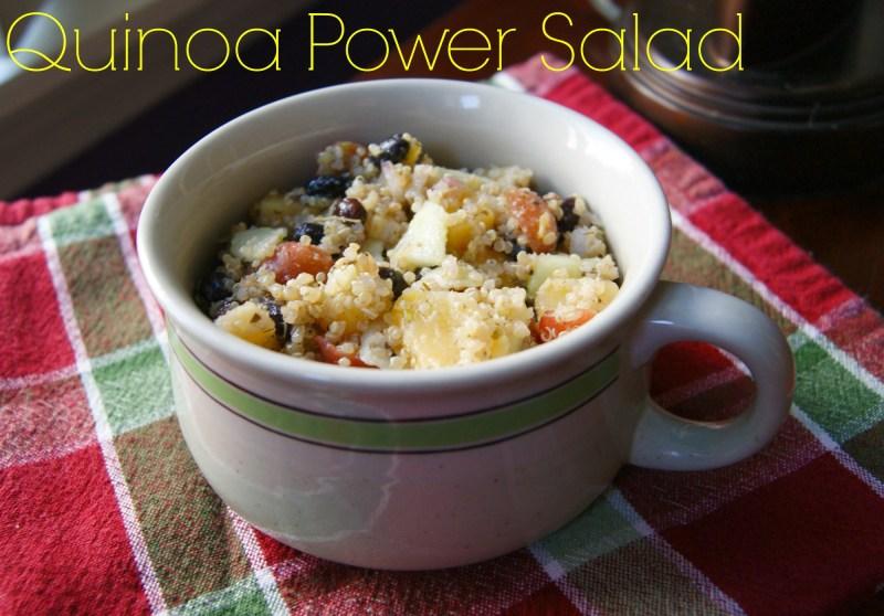 Tasty Tuesday: Quinoa Power Salad