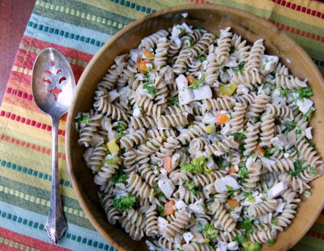 pasta salad with chicken