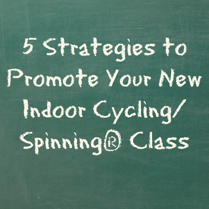 5 Strategies to Promote a New Cycling Class