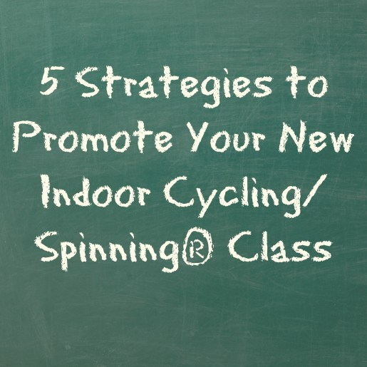 promote your new cycling class
