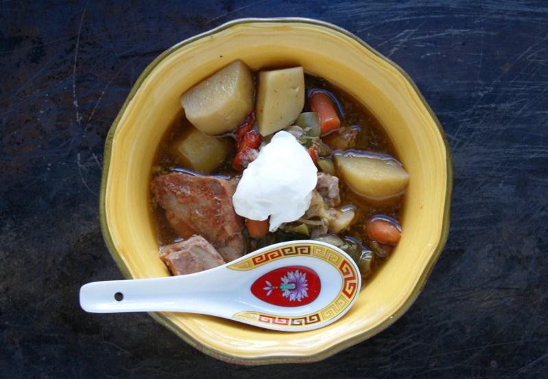 Pork Stew Recipe (Crockpot)
