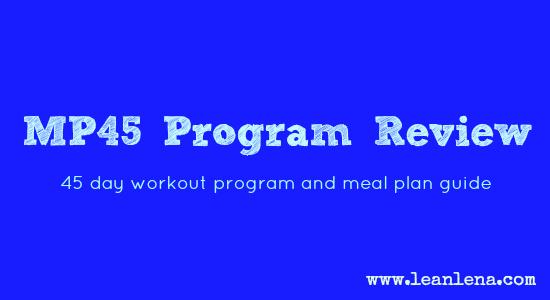 MP45 program review