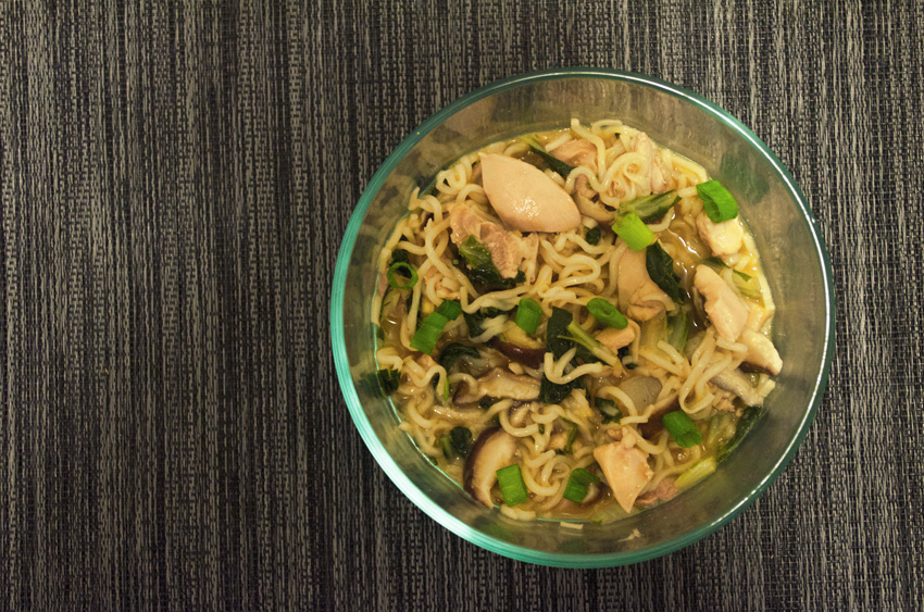 Miso Chicken Ramen Soup