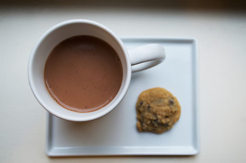 Hot Cocoa (Dairy and Refined Sugar Free)