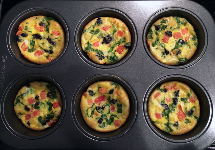 Greek Muffin Pan Frittatas