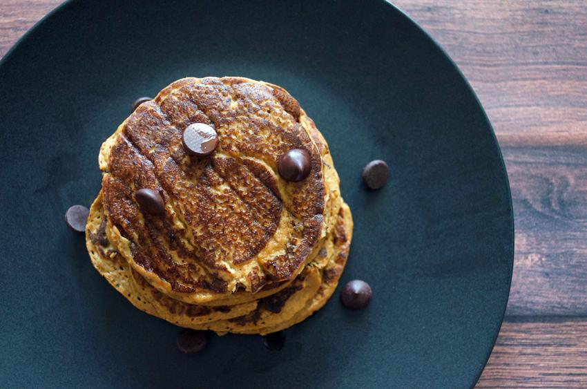 Pumpkin Pancakes (gluten free, paleo)