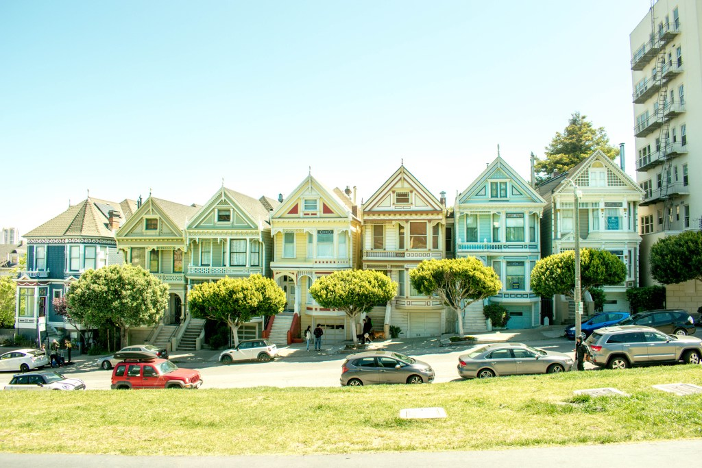 san francisco, painted ladies, alcatraz, prison, golden gate bridge, camping, highway 101, highway 1, pacific coast highway, birthday, road trip, architecture, must see, places to stop, California,