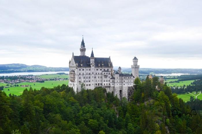 [德國景點]新天鵝堡 來場迪士尼城堡原貌巡禮 預約方式及如何前往 附近餐廳推薦