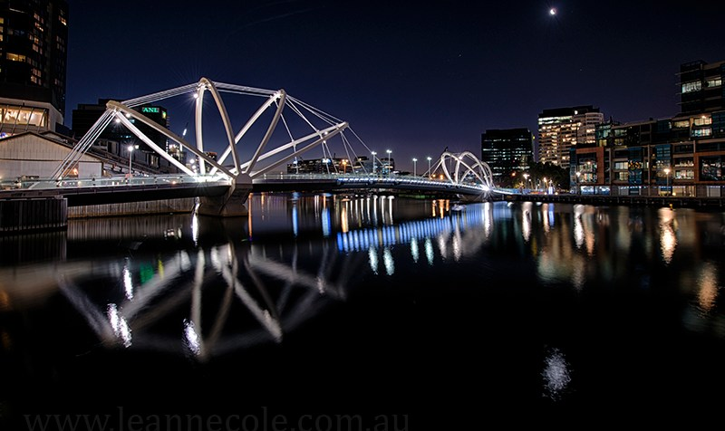 sea farers bridge, over the Yarra River, Melbourne