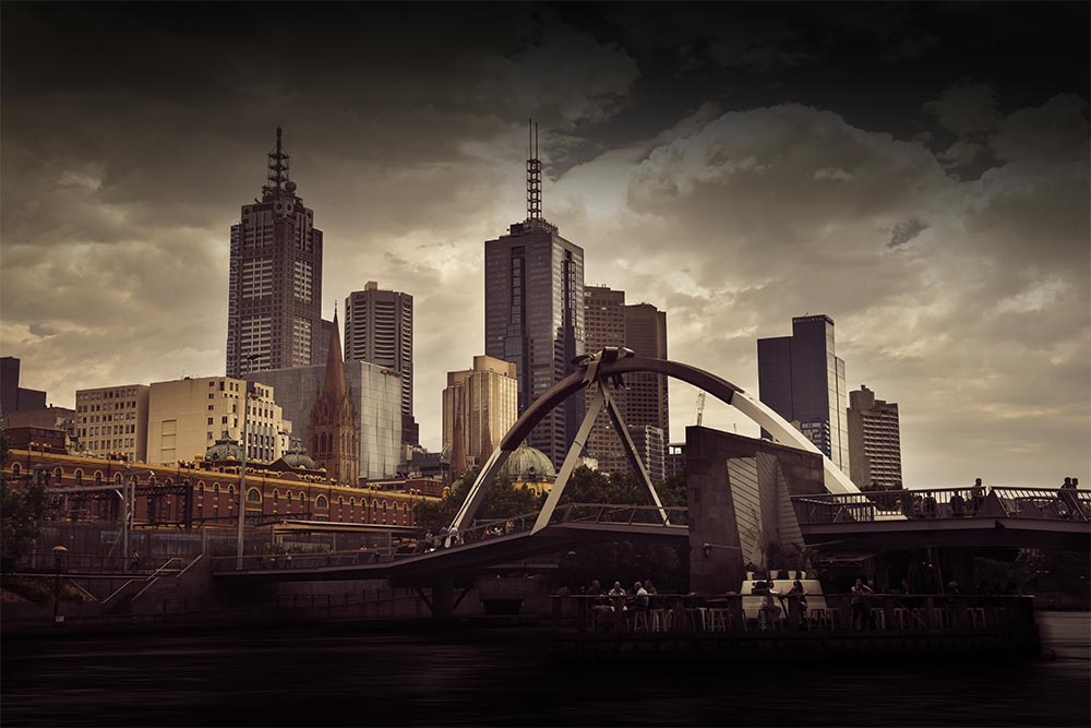 bridge-city-river-melbourne-buildings
