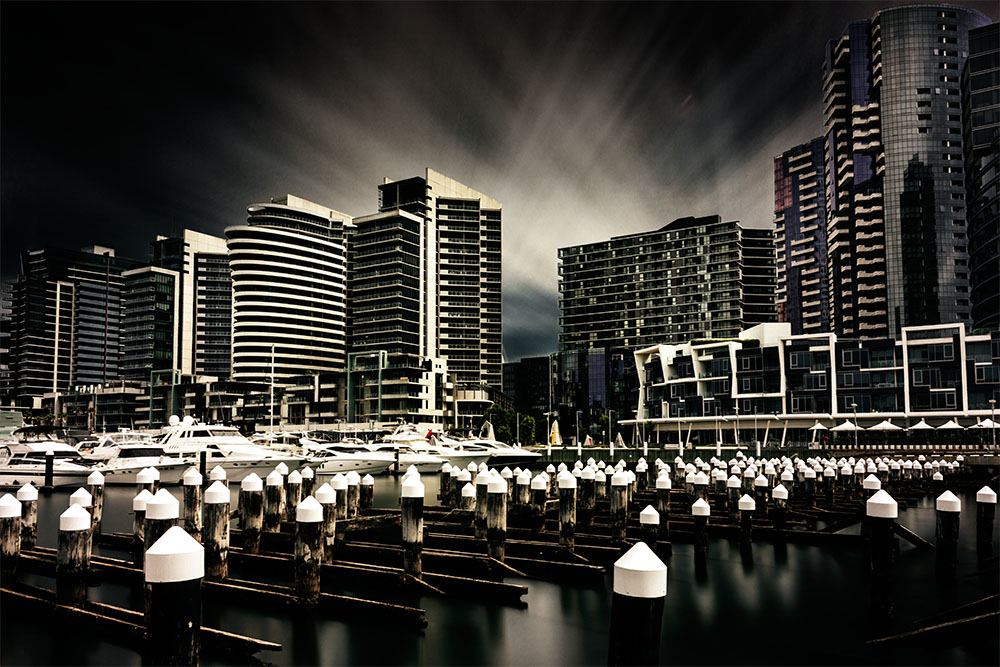 long-exposure-docklands-melbourne-city