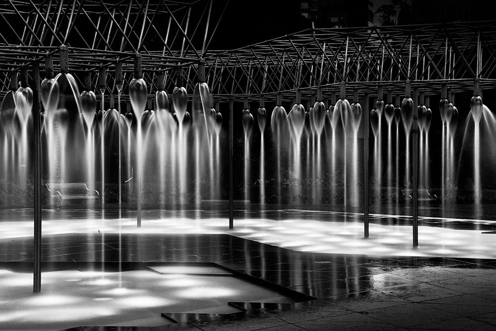 fountain-parliament-gardens-melbourne-longexposure