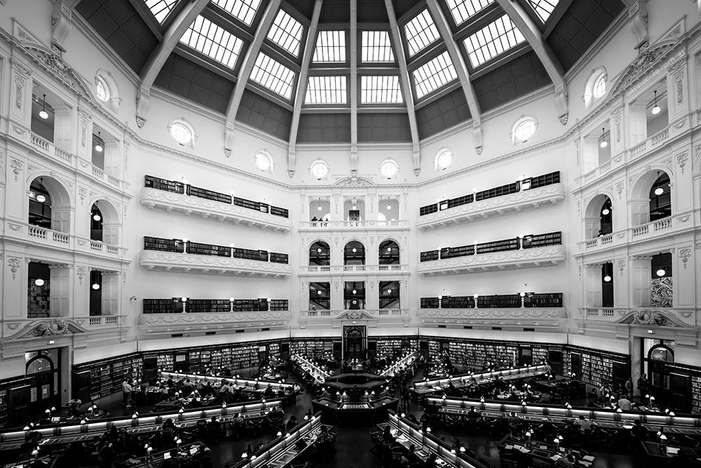 victoria library melbourne
