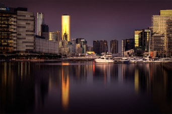 docklands-sunset-golden-hour-longexposure